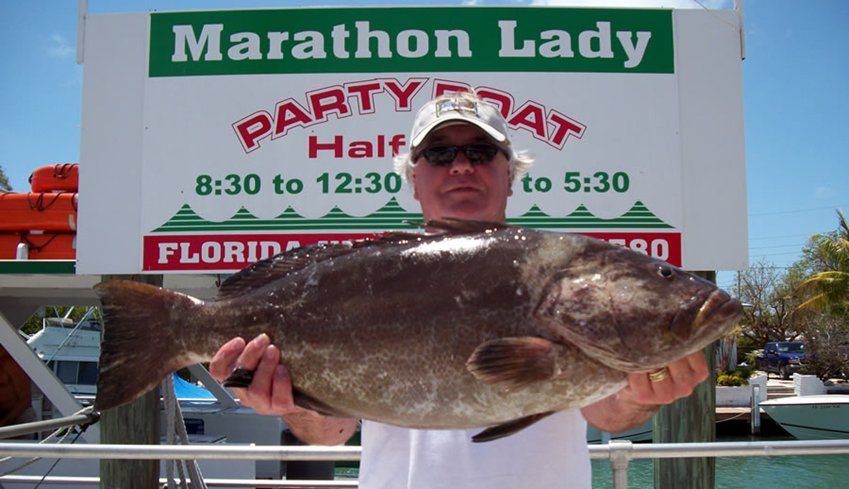 Florida Keys Fishing Aboard The Marathon Lady Party Boat